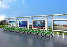 公共自行车棚-公共自行车棚ZT-ZX-12