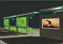 公共自行车棚-公共自行车棚ZT-ZX-4