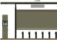 公共自行车棚-公共自行车棚ZT-ZX-6