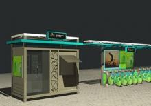 公共自行车棚-公共自行车棚ZT-ZX-7