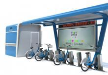 公共自行车棚-公共自行车棚ZT-ZX-9